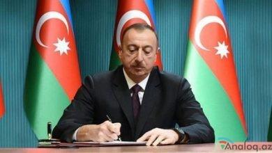 Photo of Prezident İlham Əliyev SƏRƏNCAM İMZALADI