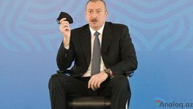 """Photo of İlham Əliyev: """"Prezident bunu edirsə, başqası niyə edə bilməz?"""""""
