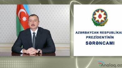 Photo of Prezident onları təltif etdi-SƏRƏNCAM
