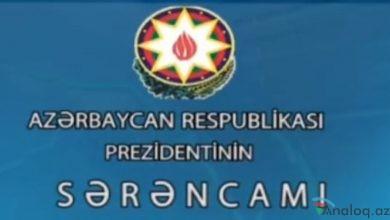 Photo of Prezident İlham Əliyev sərəncam imzaladı