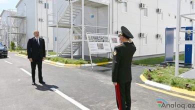 Photo of Ölkə başçısı modul tipli hospitalının açılışında iştirak edib