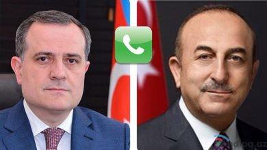 Photo of Ceyhun Bayramovun Çavuşoğlu ilə telefon danışığı oldu