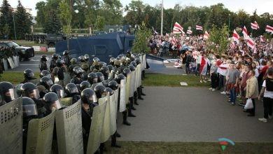 Photo of Minskdə etiraz aksiyasında 140 nəfər saxlanılıb