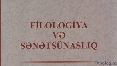 """Photo of """"Filologiya və sənətşünaslıq"""" jurnalının növbəti sayı çap olunub"""