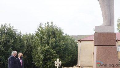 Photo of İqtisadiyyat naziri Daşkəsənə səfərə gəlib
