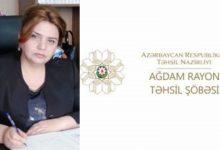 Photo of Ağdam rayon təhsil şöbəsinin müdirinin ŞOK SƏS YAZISI YAYILDI