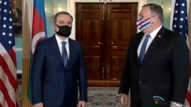 Photo of Vaşinqtonda Azərbaycan XİN başçısı ilə ABŞ Dövlət katibi arasında görüş keçirilib