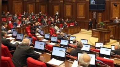 Photo of Ermənistan parlamentinin rəsmisi sərsəmlədi