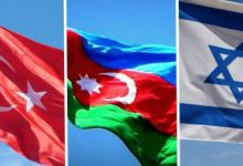 Photo of Armenians burn Israeli, Azerbaijani and Turkish flags in Lebanon-VİDEO