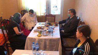 Photo of Qənirə Paşayevə Mixail Zabelin şəhid Denis Proninin ailəsini ziyarət edib-FOTOLAR