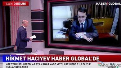 "Photo of Hikmət Hacıyev ""Haber Global""-a müsahibə verdi"