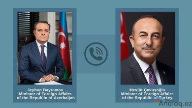 Photo of Azərbaycan və Türkiyə XİN başçılarının telefon danışığı olub