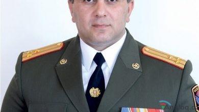 Photo of Erməni generalı istefa verdi