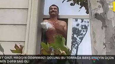 Photo of Vətən savaşında qolunu itirən qazinin ŞUŞA SEVİNCİ-VİDEO