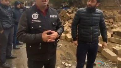 Photo of Ata Abdullayev Nizami rayonunda olan hadisəni işıqlandırdı-VİDEO