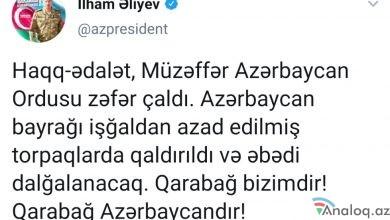 Photo of Ölkə başçısından növbəti TWITT