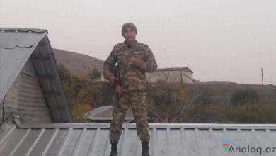 Photo of Fərhad Əliyevin oğlu da ön cəbhədə döyüşüb